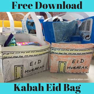 ilma education free kabah eid bag