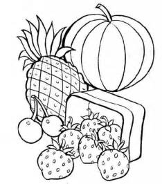 healthy color pictures free printable food coloring pages for