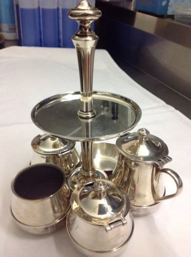 etagere wmf wmf classic etagere menage milch zucker set silber