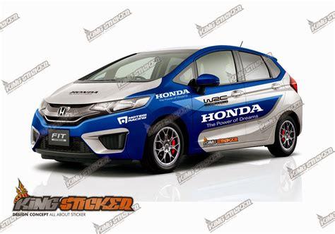 Cutting Sticker Mobil Honda Jazz Turbo Vector cutting sticker honda jazz king sticker bali