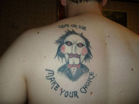 different tattoos gallery with different saw tattoos