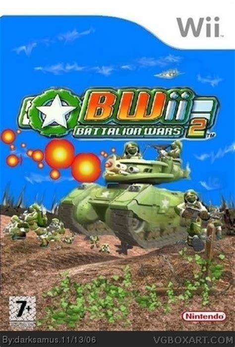 battalion wars 2 wii box art cover by darksamus