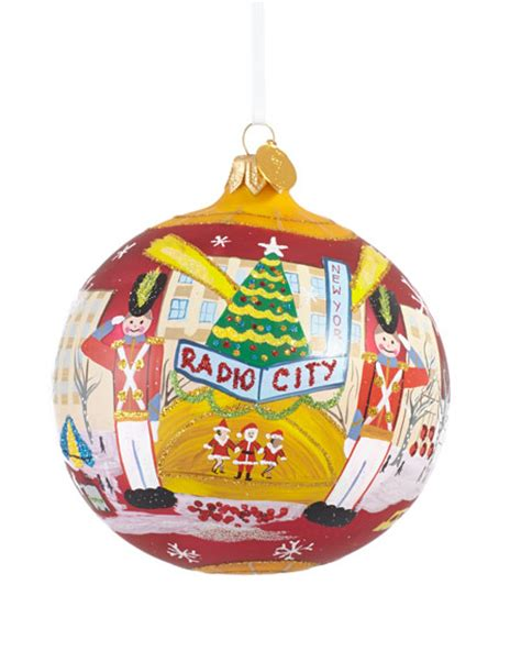 quot radio city music hall quot christmas ornament