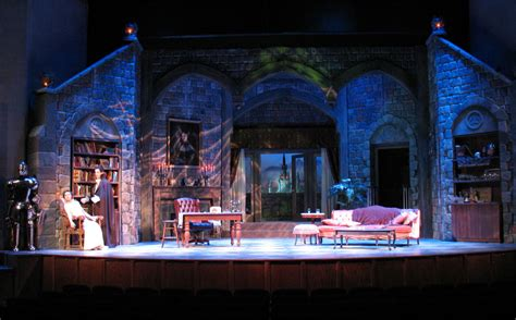 set design ideas count dracula