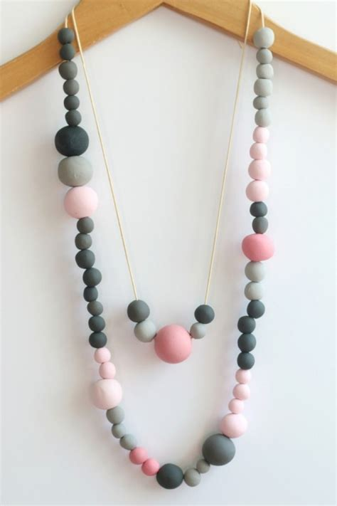 make your own diy beaded necklace design sponge
