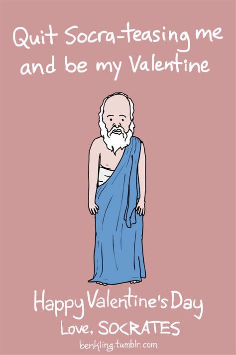 ben kling valentines ben kling s socrates s day is punny