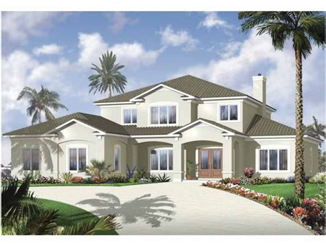 6 bedroom house in florida eplans european house plan sensational stucco