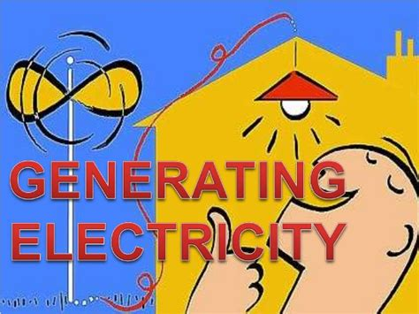 different methods for generating electricity