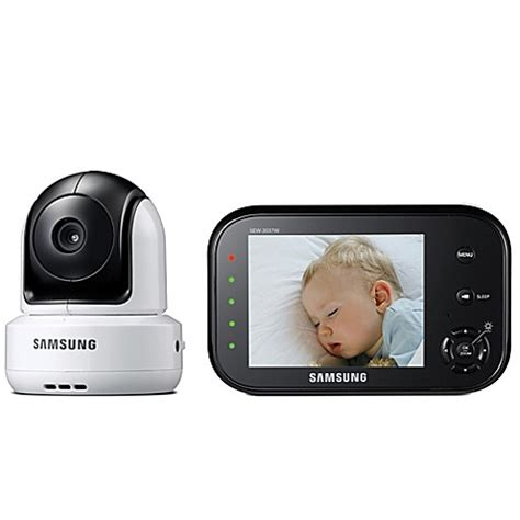 samsung safeview baby and monitor with 3 5 inch color lcd screen bedbathandbeyond