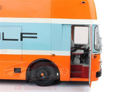 gulf racing truck 1968 mercedes gulf racing truck by schuco exclusively