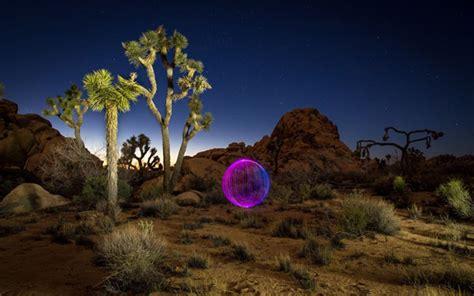 Light Painting Landscape نگاه عکاس 6 نقاشی با نور منظره در شب لنزک