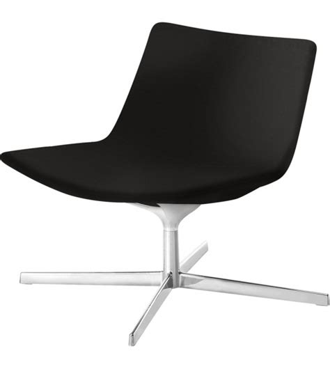 low chaise lounge catifa 60 lounge arper armchair with low backrest milia shop