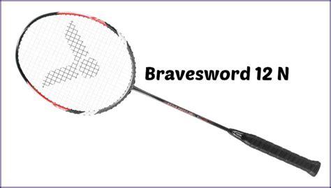 Raket Victor Brave Sword 12 victor bravesword 12 badminton racquet review