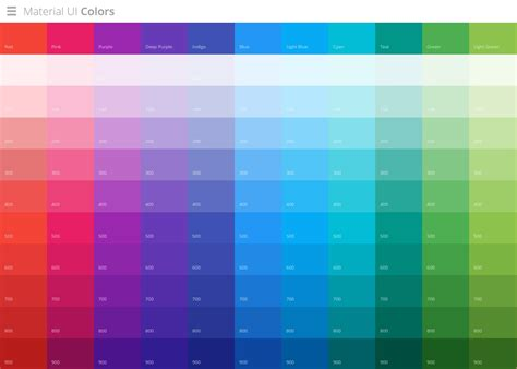 best material color combination 4 tools for creating brilliant material design color pallets