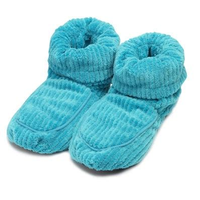 microwavable boot slippers warmies boot slippers aqua microwavable boots