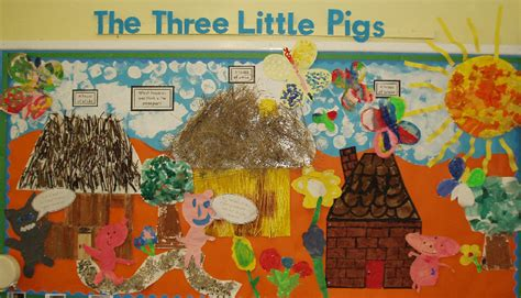Wall Gallery Ideas by Three Little Pigs Classroom Display Photo Photo Gallery