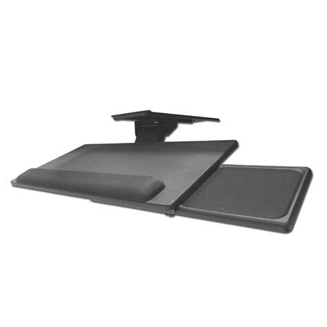 clip on desk shelf desk keyboard mouse shelf from lindy uk