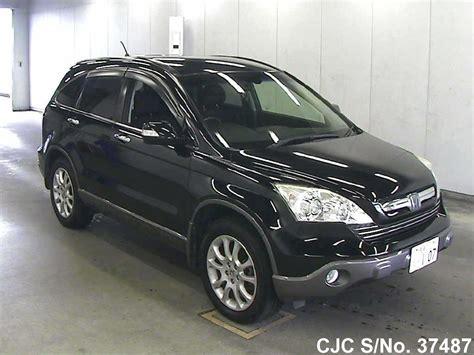 Honda Crv Black by 2007 Honda Crv Black For Sale Stock No 37487 Japanese