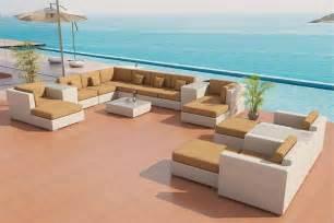 Patio Furniture Sectional Sets Sofa Outdoor Patio Furniture Set 25