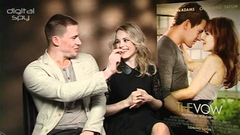 new downloads for channing tatum and rachel mcadams the vow channing tatum rachel mcadams the vow interview youtube