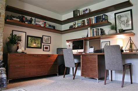 modern home office mid century modern home office ideas