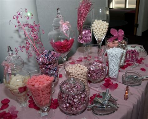 White Vases Bulk Wedding Candy Buffet Hudson Valley Ceremonies