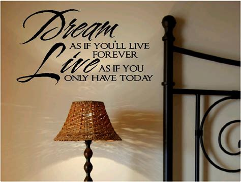 inspirational quotes for bedroom walls inspirational wall quotes vinyl wall decals dream as if