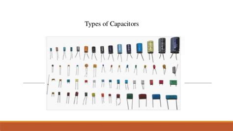 types of pcb capacitors basic electronic components used in pcb designing