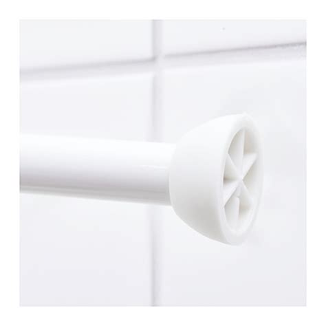 ore shower curtain rod ore shower curtain rod white 110 200 cm ikea