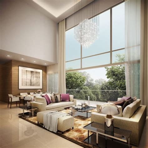 High Ceiling Living Room Designs 13 High Ceiling Living Room That Will Make The Room Bigger