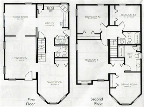 2 story 4 bedroom 3 bath house plans archives new home