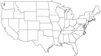 blank map of united states editable