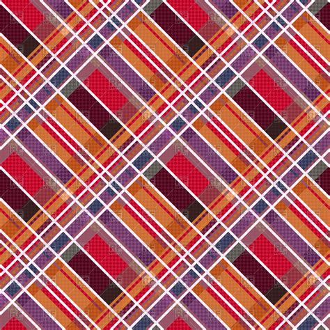 kilt pattern download rhombic seamless tartan or plaid pattern vector image