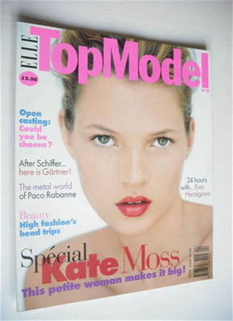 Kate In Magazine I Am A Bit Wacky by Top Model Magazine Kate Moss Cover No 15