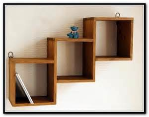 Wooden Wall Mounted Bookshelves Wall Mounted Bookcase Wood Home Design Ideas