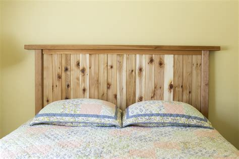 cedar headboard how to make a cedar headboard dunn diy