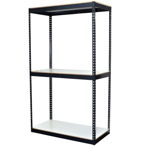 store shelving units storage concepts 84 in h x 48 in w x 24 in d 3 shelf
