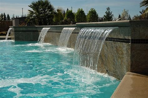 waterfalls for inground pools modern inground pool waterfalls 5 inground pool