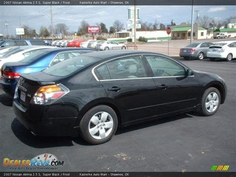 nissan altima black 2007 2007 nissan altima 2 5 s black photo 3