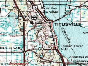 where is titusville florida on a map map titusville florida fl 32780 profile population maps
