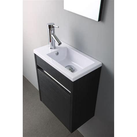 meuble lave mains pacific gris lavabo vasque lave