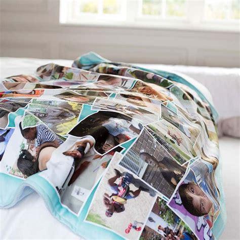 gifts uk photo blankets personalised fleece blanket with photos on
