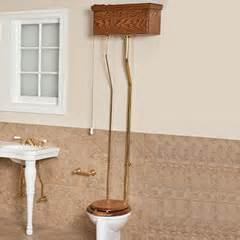 Pull chain toilets are sure to give your bathroom an antique look high