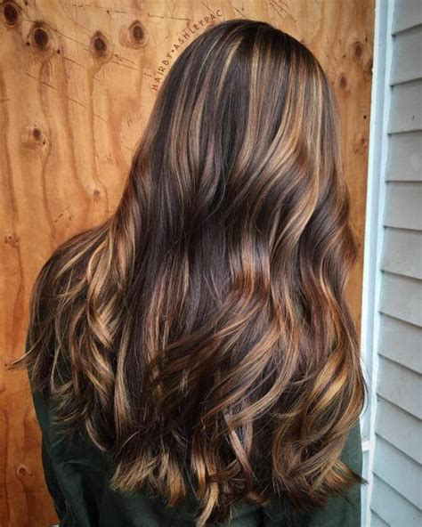 different colour of brown and copper highlights new tiger eye hair color ideas for 2017 new hair color