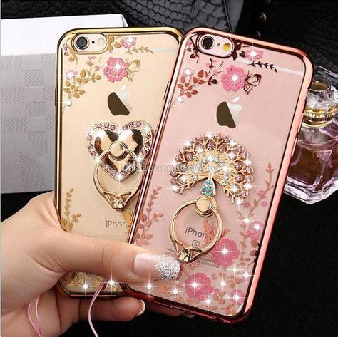 luxury bling ring holder phone
