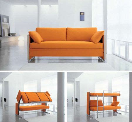 sofa bunk bed space saving furniture that transforms into a bunk bed space saving