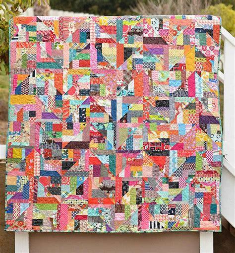 scrappy zig zag quilt pattern crazy zig zag scrap quilt quilting scrappy quilts