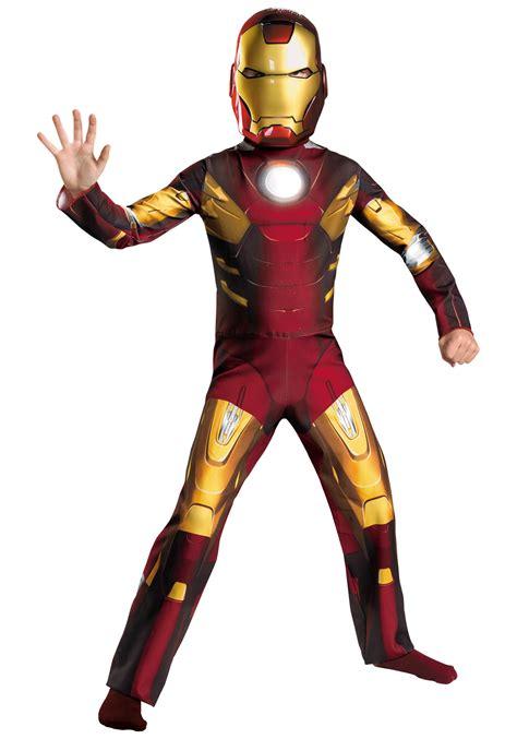 child avengers iron man mark vii costume