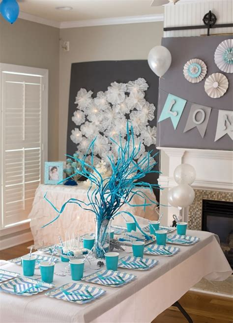 winter themed decorating 10 themes cool ideas how to throw a