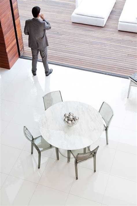 a white dining table matches any theme in your dining room perhaps quartz to match kitchen counter tulip round